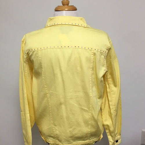 Just My Style Jacket  - Yellow