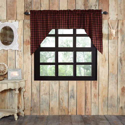 Cumberland Swag Lined Set of 2 36x36x16