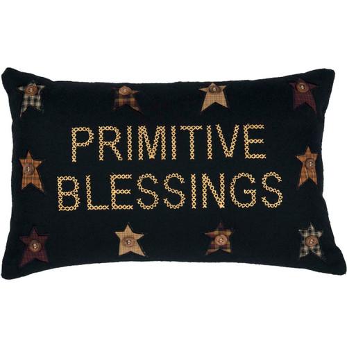 Primitive Blessings Pillow 14x22
