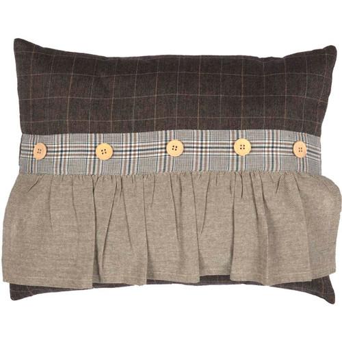 Rory Ruffled Pillow 14x18