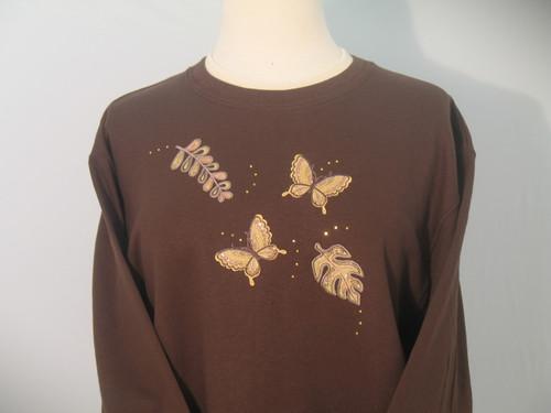 Sequin Nature Sweatshirt