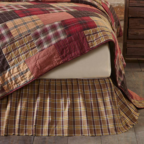 Wyatt Twin Bed Skirt 39x76x16
