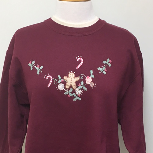 Gingerbread Kisses Sweatshirt