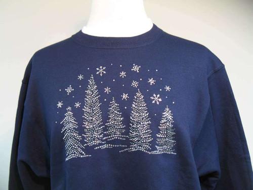 Glitzy Pine Sweatshirt