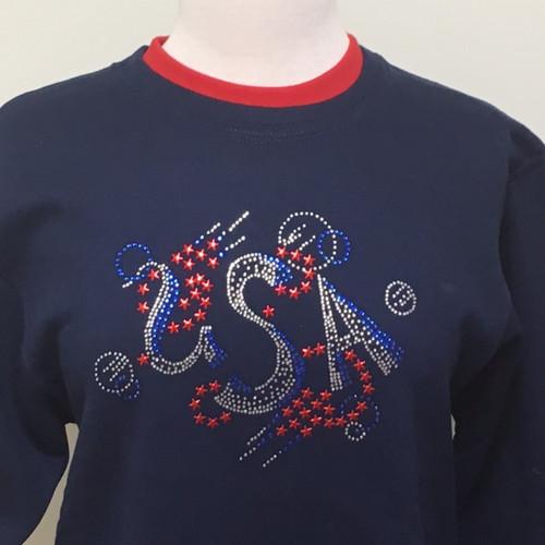 USA Glitz Sweatshirt