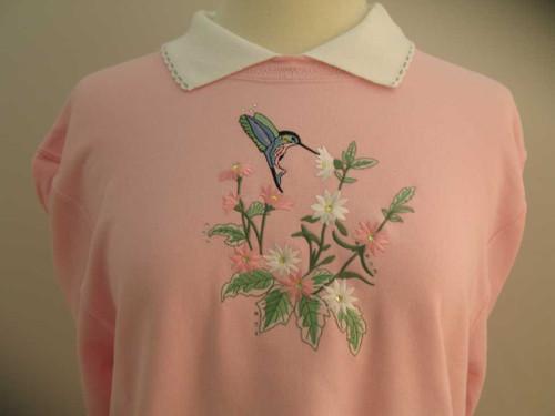 Grandma's Hummingbird Sweatshirt