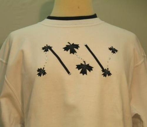 Black Leaf Sweatshirt