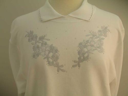 Silver Bouquet Sweatshirt