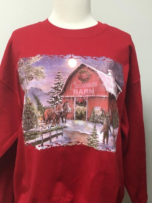 The Cmas Barn Sweatshirt