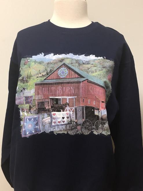 The Quilt Barn Sweatshirt