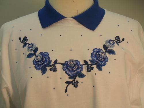 Royal Rose Sweatshirt