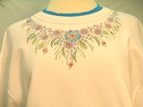 Multi Flower Sweatshirt