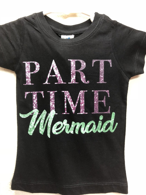 Part Time Mermaid Youth Tee