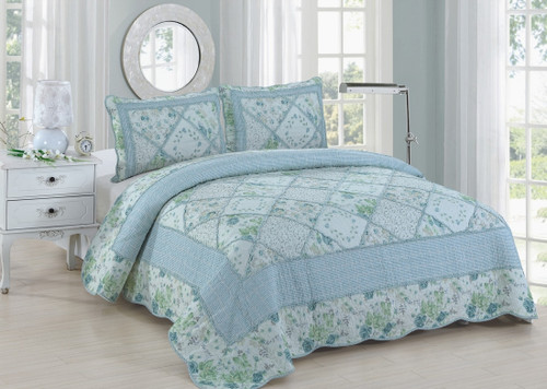 Beverly Queen Quilt SET