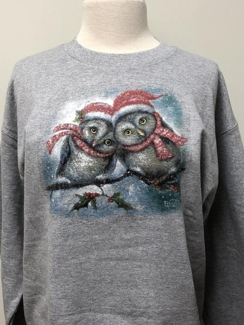 Owl I Want for Christmas Sweatshirt