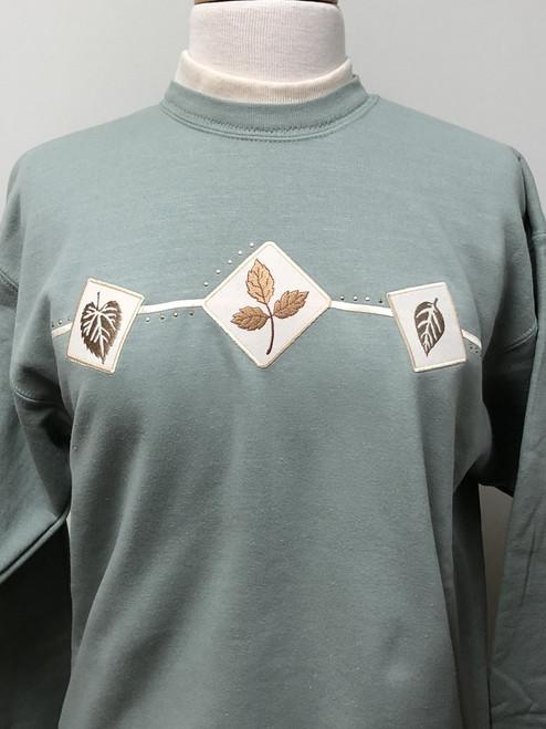 Leaf Patch Sweatshirt