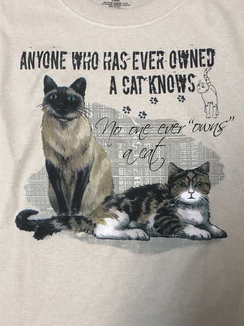 Own a Cat Tee