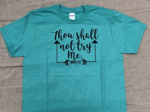Thou Shall Not Tee
