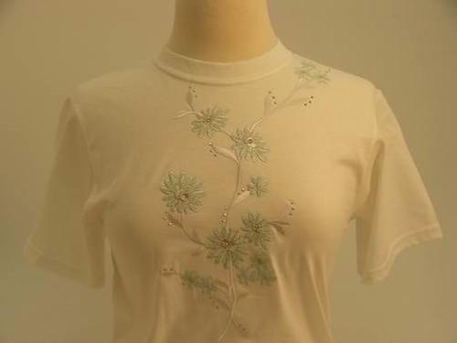 Mint Floral T-Shirt
