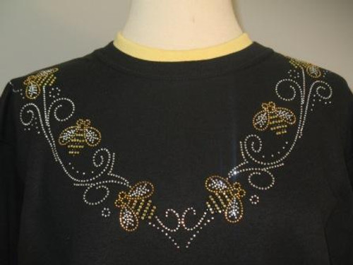 Glitz Bee Sweatshirt