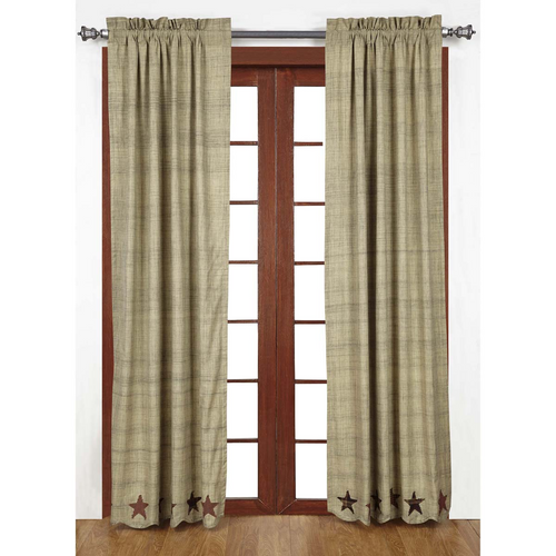 Abilene Star Panel Set of 2 84x40