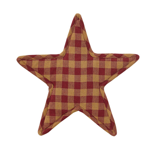 Burgundy Star Trivet Star Shape 10