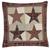 Abilene Star Quilted Euro Sham 26x26