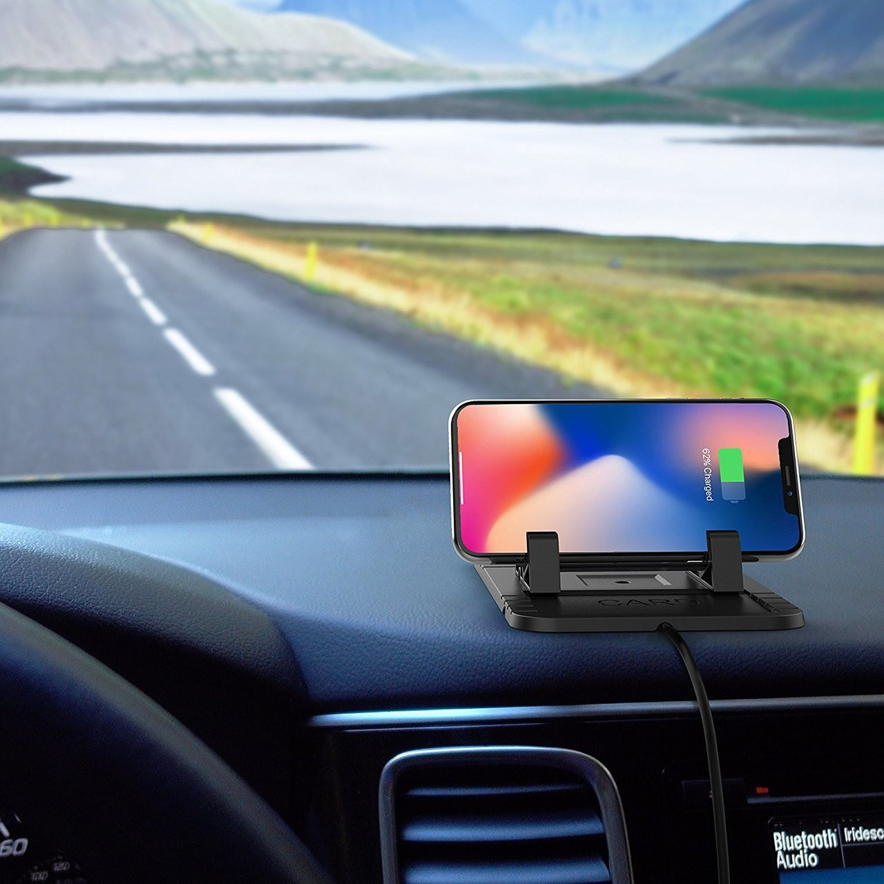 steanum Wireless Car Charger, Qi 10W