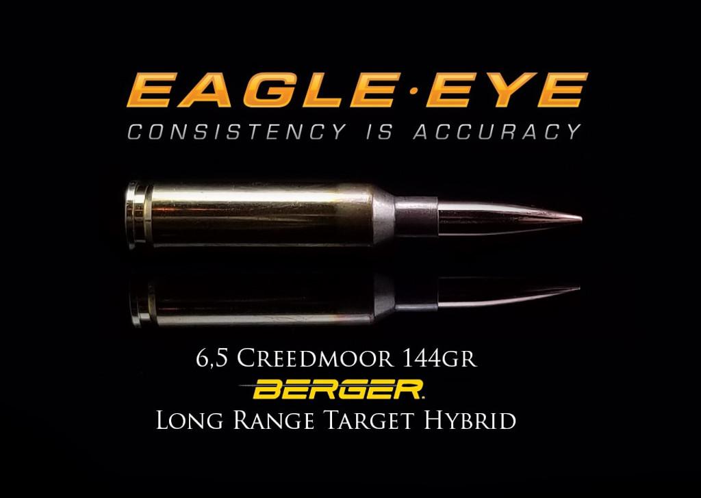 Eagle Eye 6.5 Creedmoor 144gr Berger Long  Range Target Hybrid