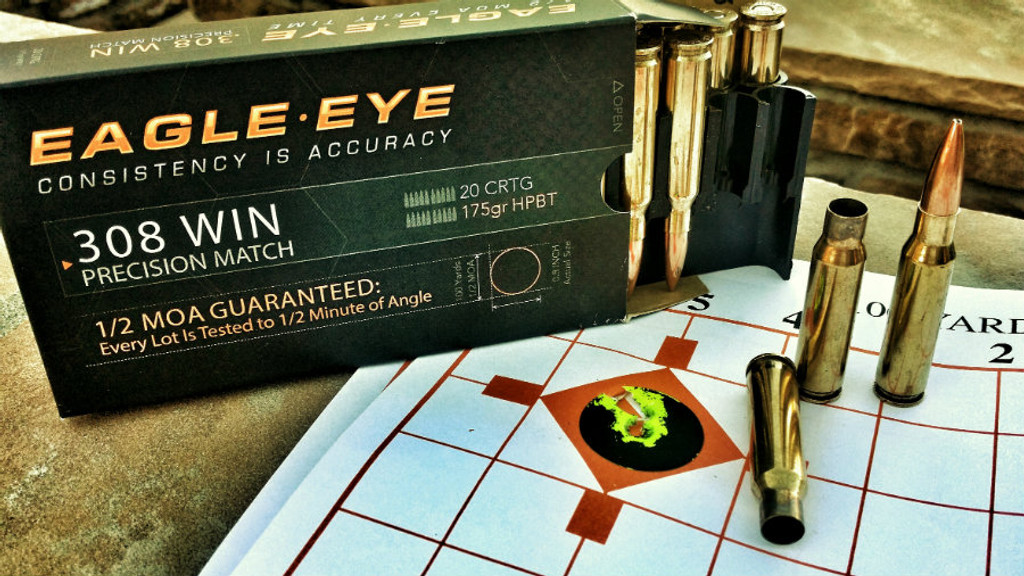 Eagle Eye Precision 308 Win 3-Shot User Target.