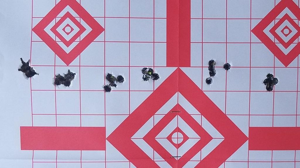 Six 5-Shot Groups with Eagle Eye 308 Win 175gr OTM Hybrid