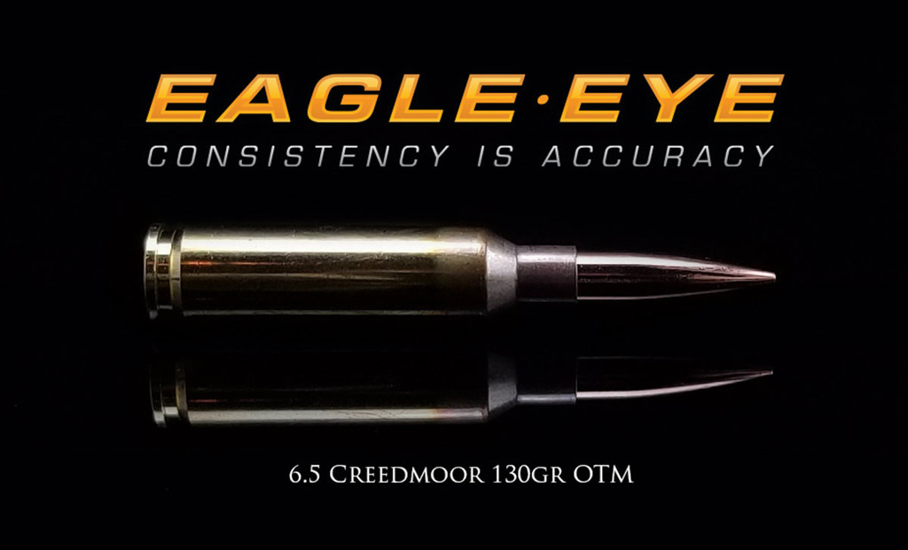 Eagle Eye Precision Match 6.5 Creedmoor 130gr Hybrid Banner Image