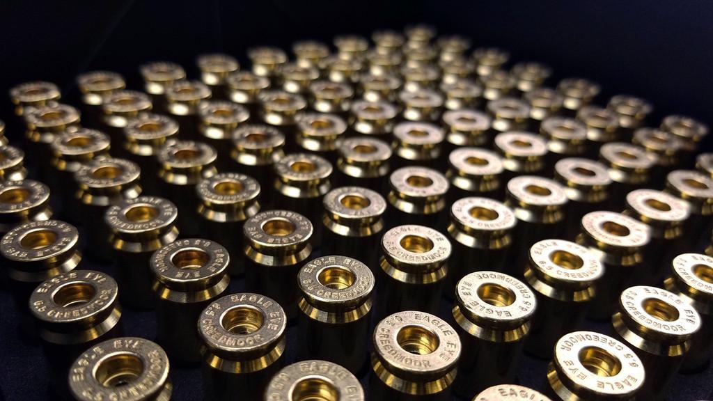 Eagle Eye  Precision Match 6.5 Creedmoor Unprimed Brass Cases Inside 100 Round Box with EVA Foam Insert