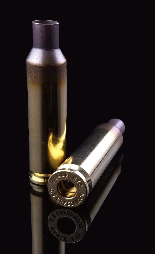 Eagle Eye Precision Match 6.5 Creedmoor Unprimed Brass Cases One Horizontal One Vertical