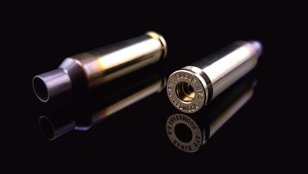 Eagle Eye Precision Match Unprimed Brass Cases Two Horizontal