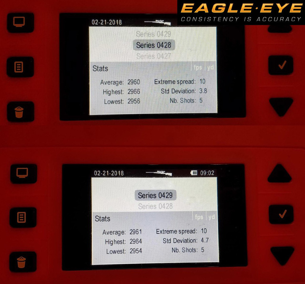 Chronograph test of Eagle Eye 6.5 Creedmoor 130gr Hybrid Ammunition