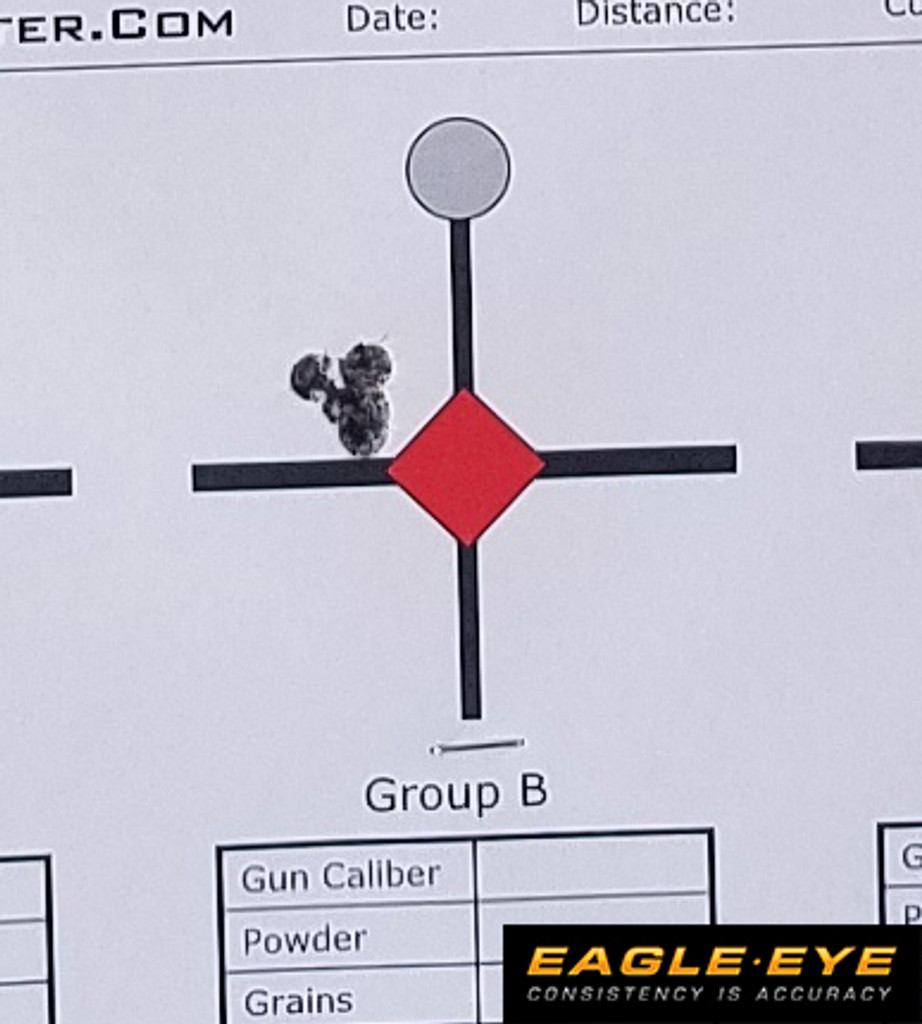 Eagle Eye 6mm Creedmoor 105gr Hybrid 5 Shot Group