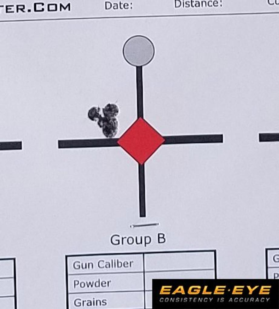 Loaded Eagle Eye 6mm Creedmoor Precision Match 105gr Hybrid Ammunition Group
