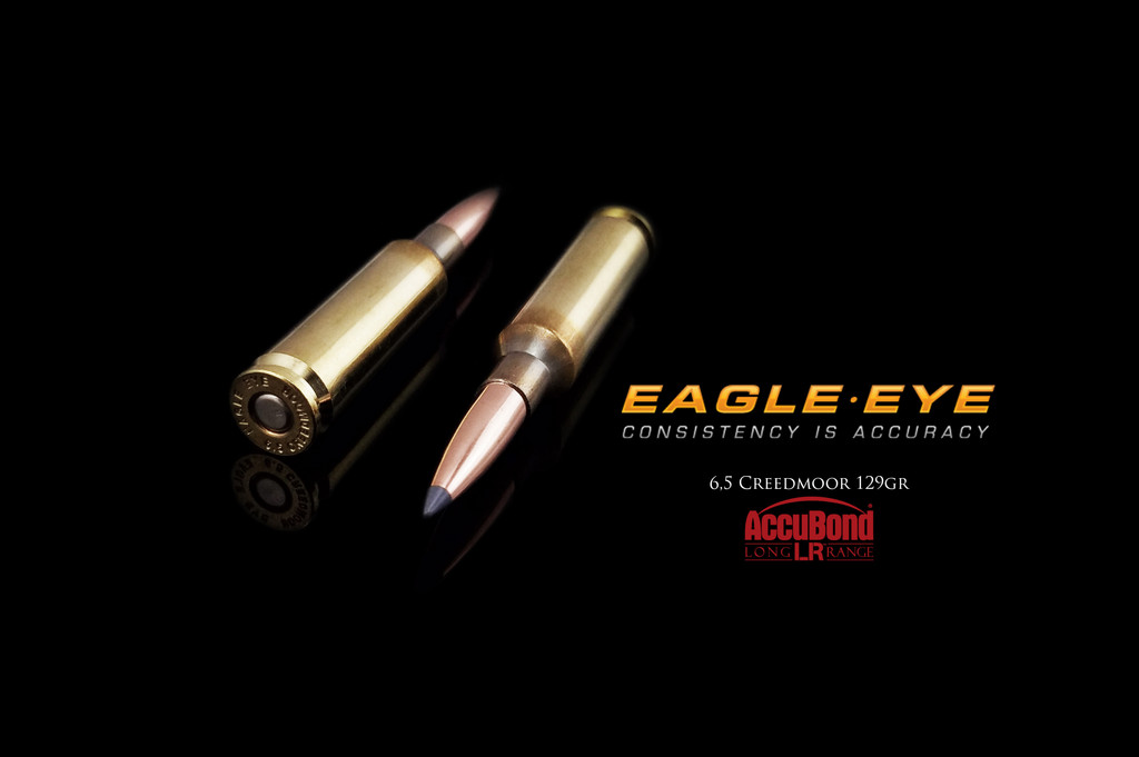 Eagle Eye Precision Match Hunting Ammunition - Nosler 129gr Accubond Long Range