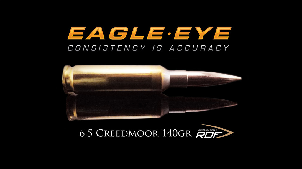 Eagle Eye 6.5 Creedmoor - Nosler 140gr RDF