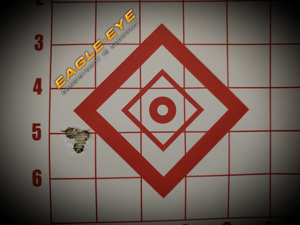 Eagle Eye Precision Match Hunting 6.5 Creedmoor 140gr Classic Hunter 5 Shot Group