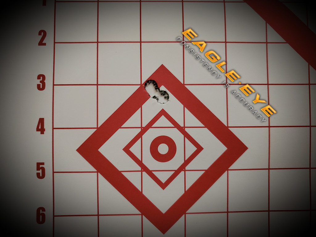 Eagle Eye Precision Match 6.5 Creedmoor 140gr 5 Shot Group