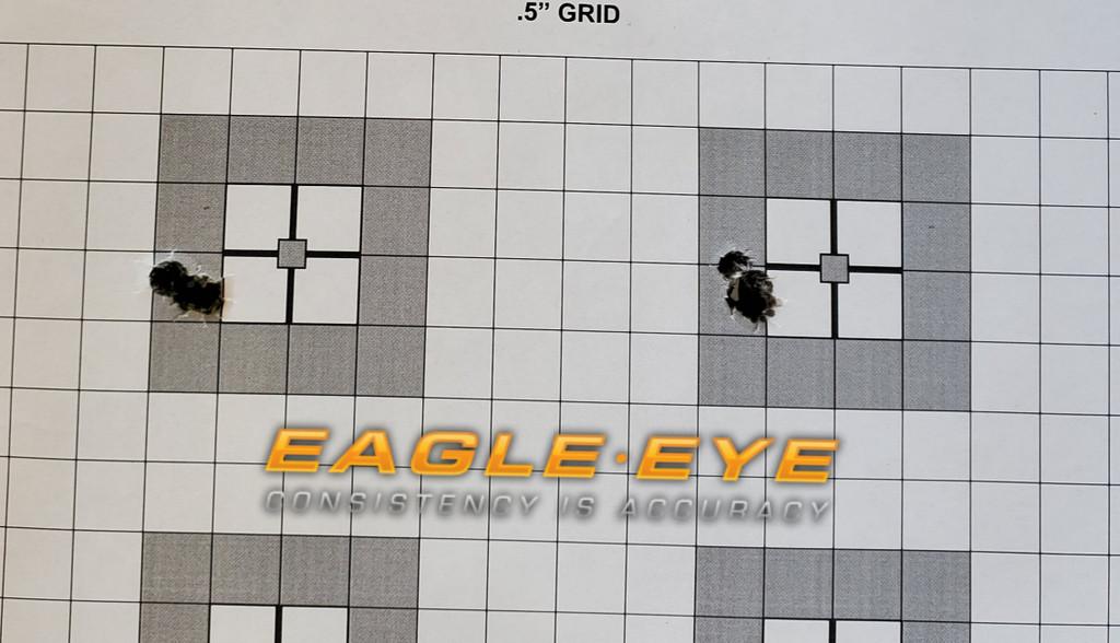 Eagle Eye Precision Match 6.5 Creedmoor 140gr 2 - 5 Shot Groups