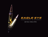 Eagle Eye Precision Match 260 Rem 130gr OTM Banner Image