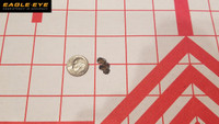 Eagle Eye 6mm Creedmoor 105gr Hybrid 5 Shot Dime Size Group
