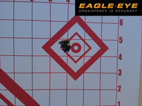 Eagle Eye 308 Win Berger 168gr Classic Hunter 5 Round Group - 100 Yards