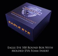 Eagle Eye Precision Match 100 Round Case with Custom EVA Molded Foam Insert