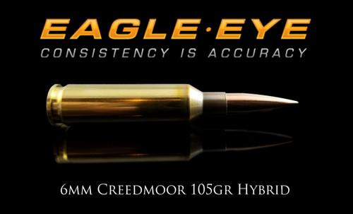 Eagle Eye 6mm Creedmoor 105gr Hybrid Ammunition Banner
