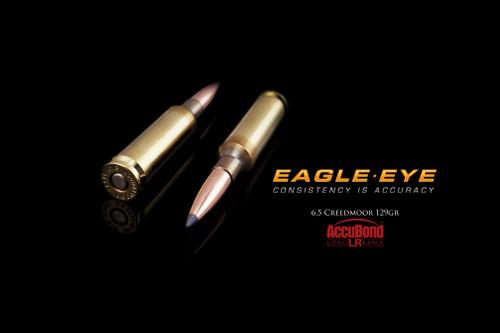 Eagle Eye Precision Match Hunting Ammunition - Nosler 129gr Accubond Long Range