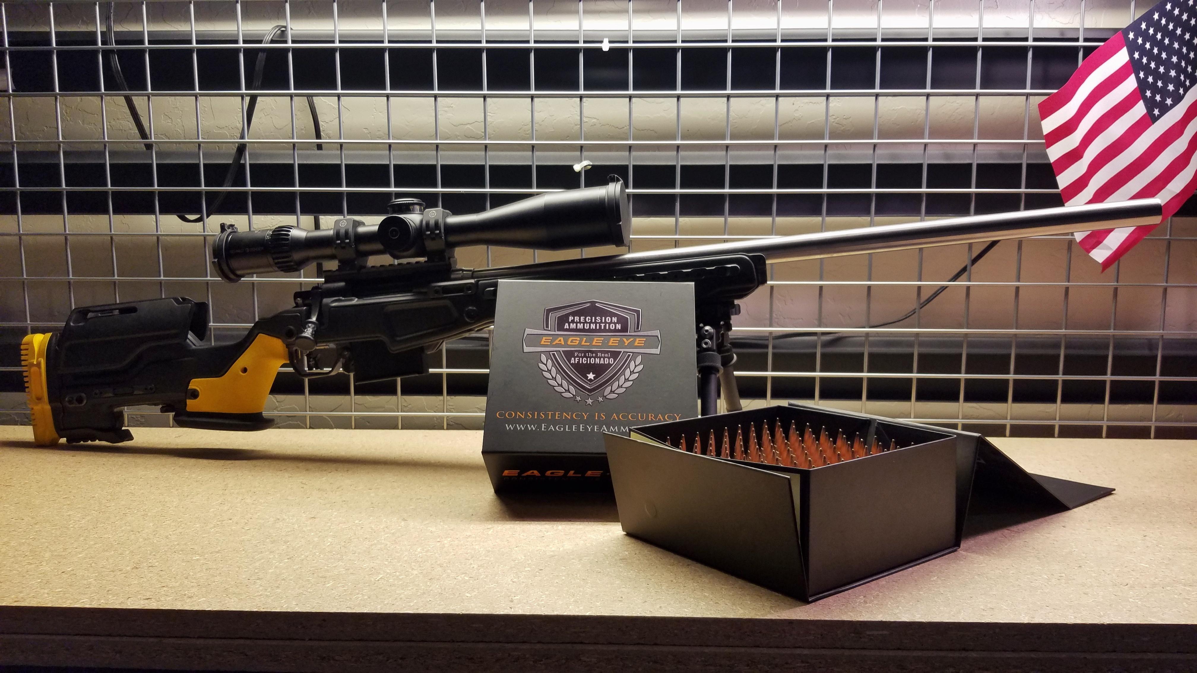 Eagle Eye 6.5 Creedmoor Ammo and Custom Rifle